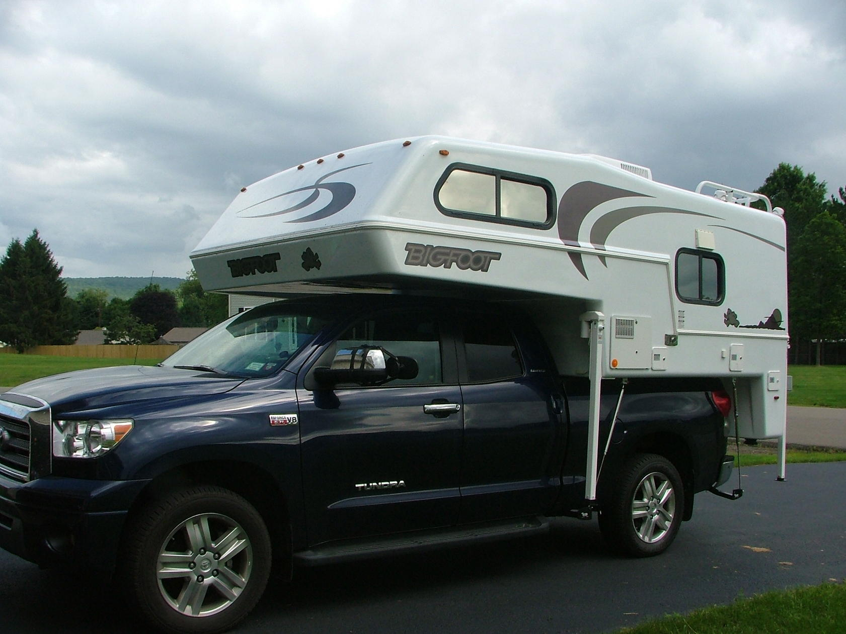 Who S Got A Truck Camper On Your Tundra Toyota Tundra Forums