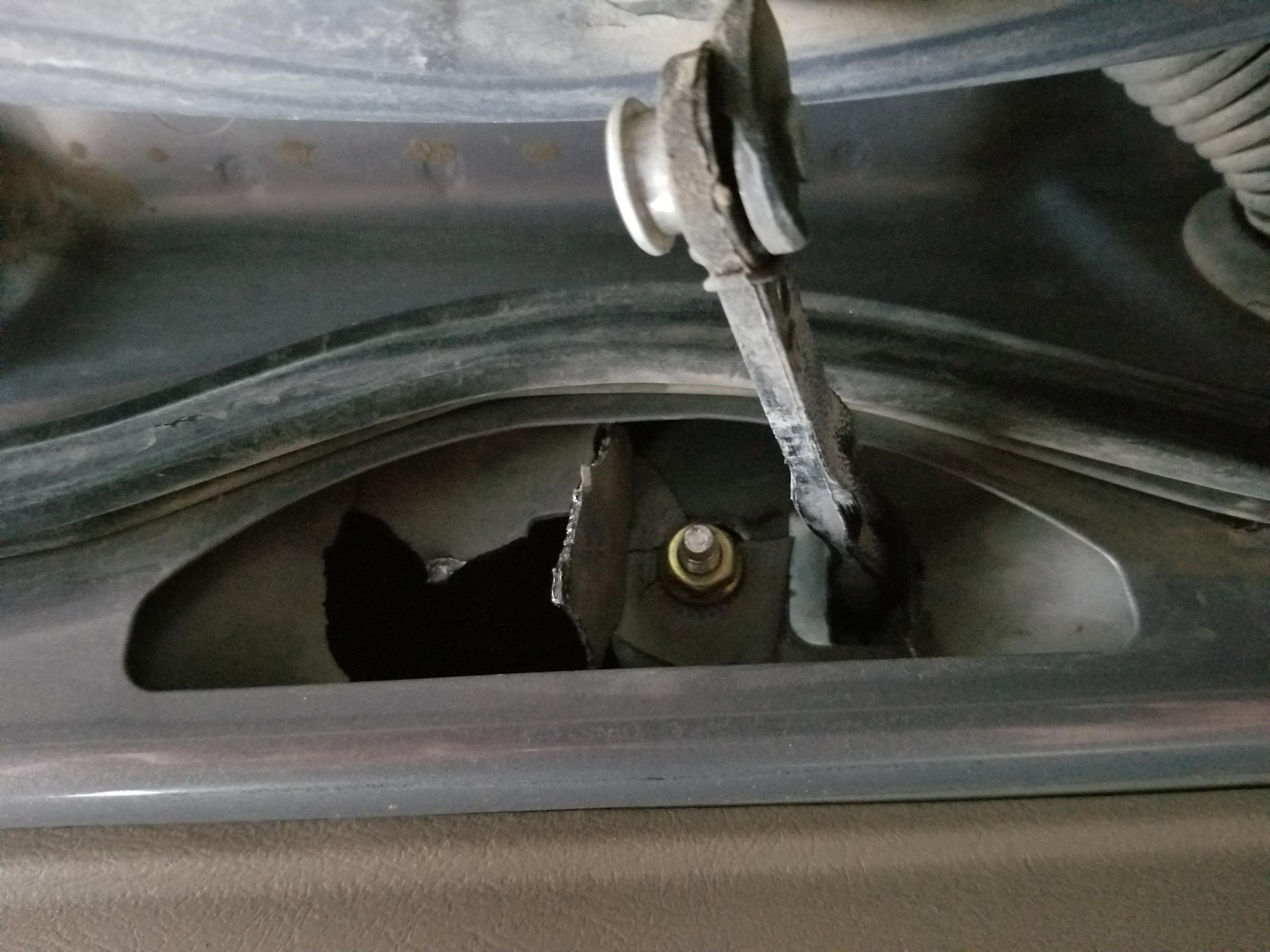 Door hinge/stop broken | Toyota Tundra Forums