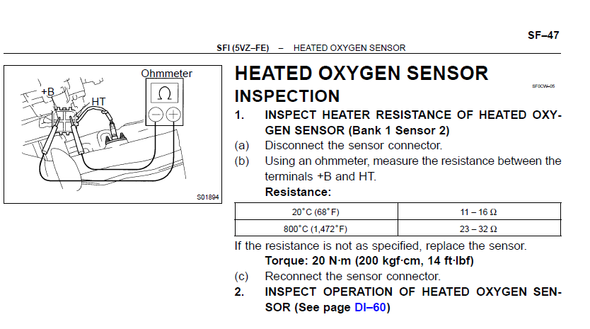 How To Replace O2 Sensors On A V6 Toyota Tundra 2002 20002006 Rhtundrasolutions: Bank 1 Sensor 2 Location 3400 Sfi At Gmaili.net