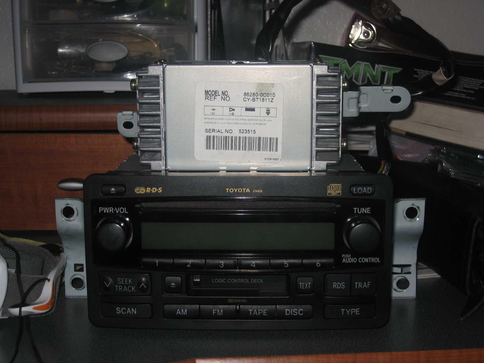 2003 Toyota Tacoma Radio Wiring Diagram from www.tundrasolutions.com