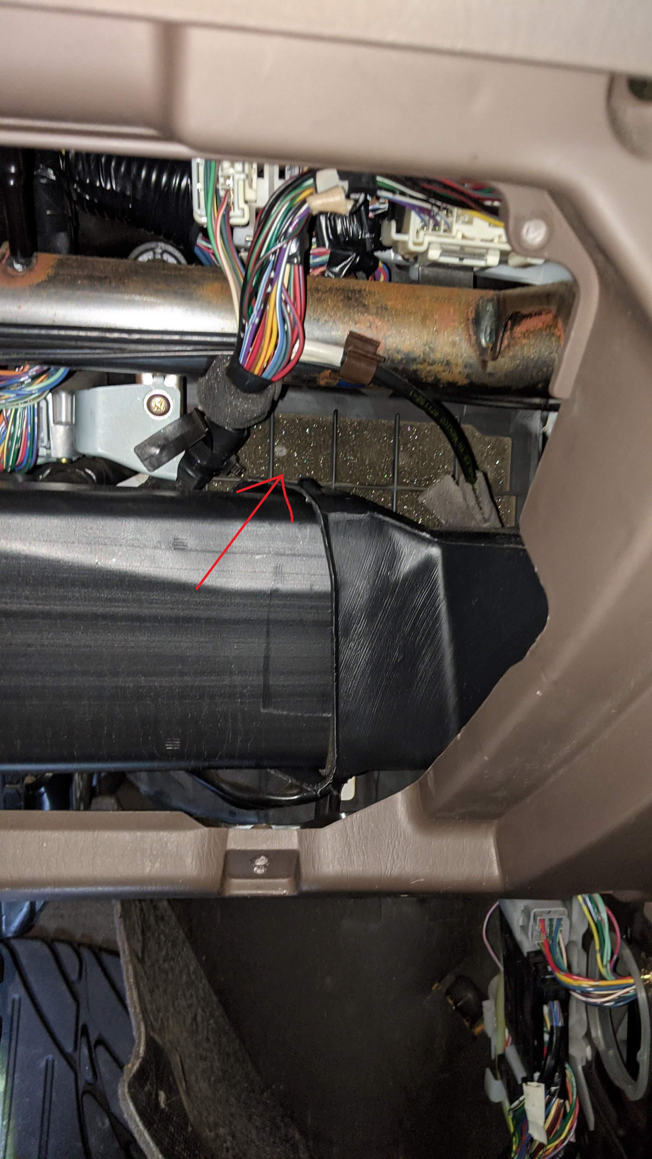 2004 Toyota Tundra Sr5 Cabin Air Filter Toyota Tundra Forums