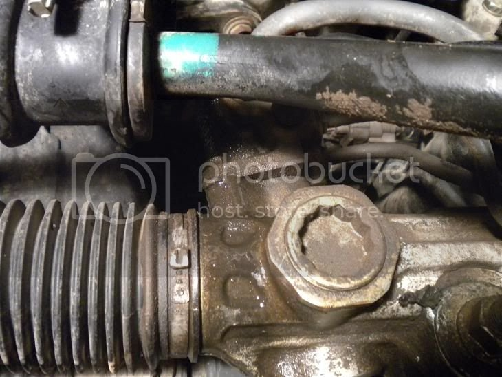 Power Steering Leak from Resevoir | Toyota Tundra Forums