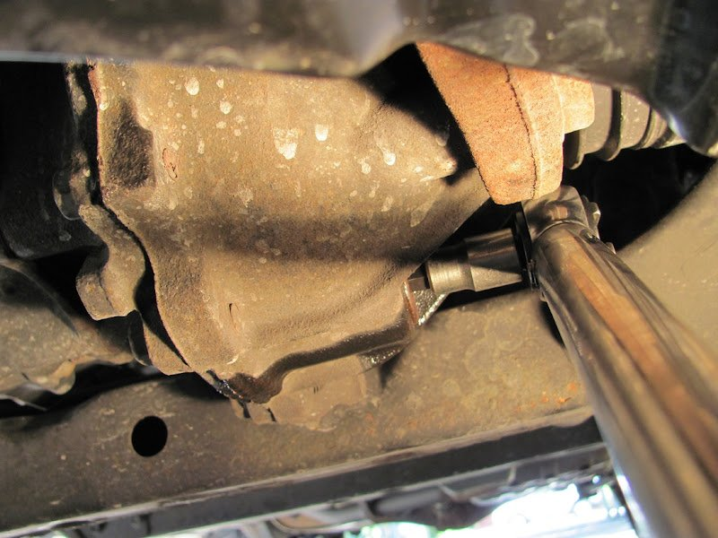Front & Rear Diffs & T-Case fluid change HOW-TO w/ pictures