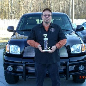 Awarded 2nd place out of 8 in the Truck division at a local Charity Car Show.  More changes were made right after this.